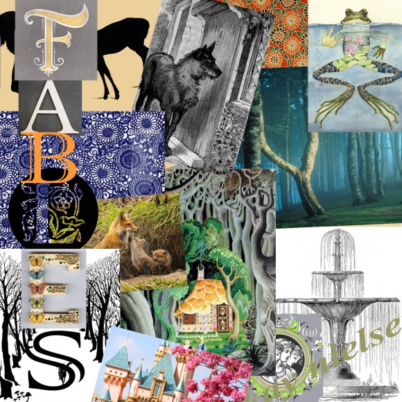 I usually do mood boards on a pin board, finding images and collating them until I have enough. This time I used photoshop, I'm a newbie with it for sure and I want to be able to use it more skillfully, this took a lot longer than usual to do, but was worth it!
