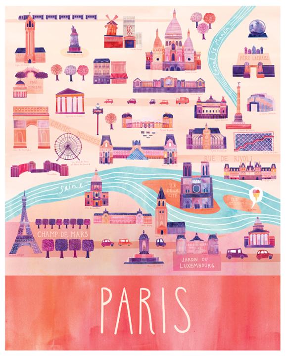 ms map paris