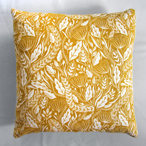 em wildflower cushion