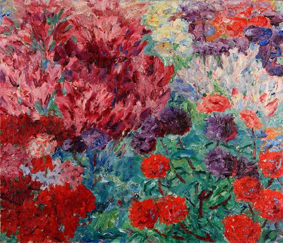 Emile Nolde - Blumengarten