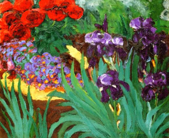 Emile Nolde - Flower Garden