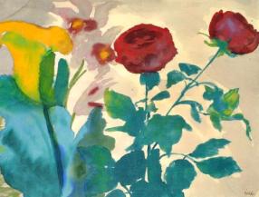 Emile Nolde - Roses